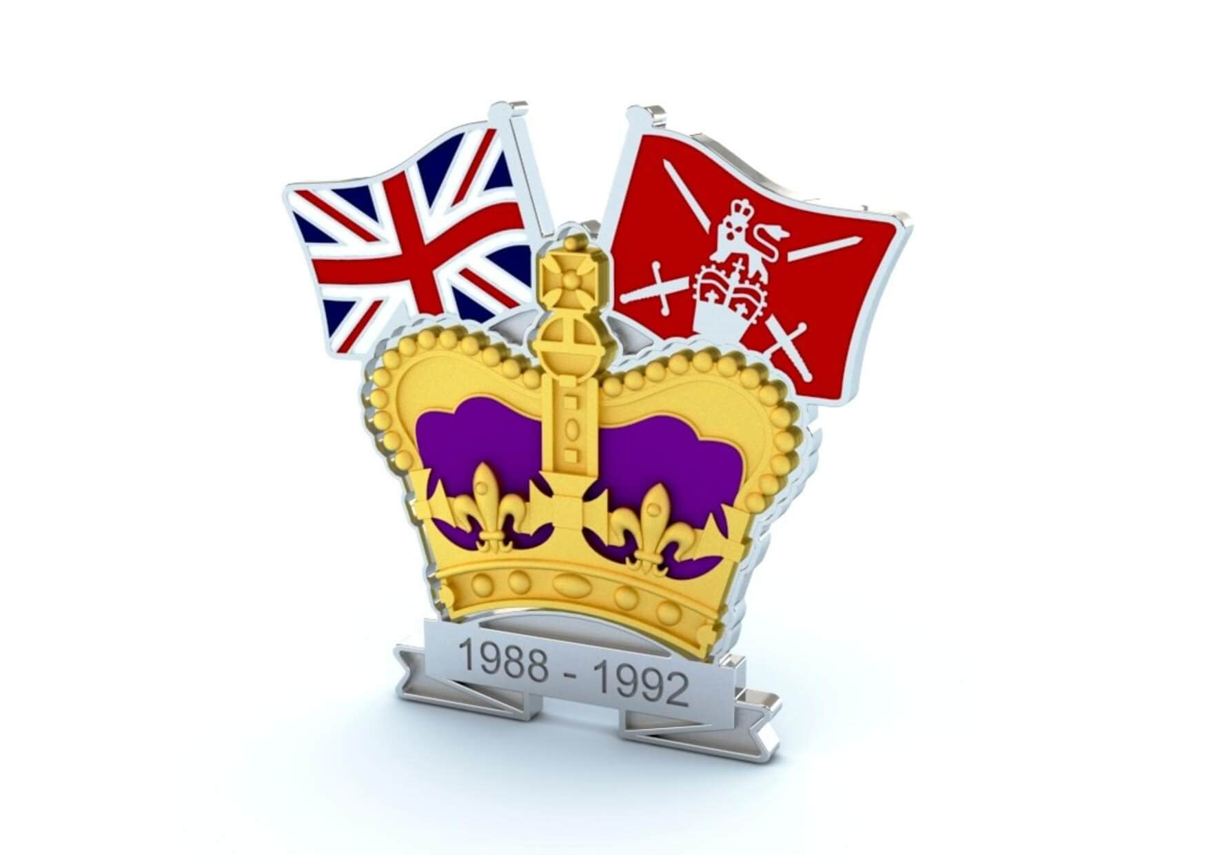 Crown and Country Badges