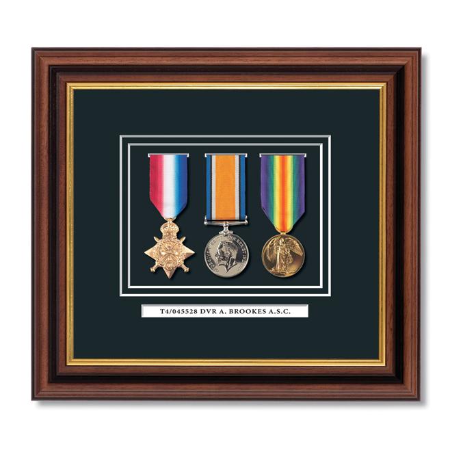 Framed Medal Sets