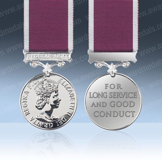 Long and Meritorious Service Medals