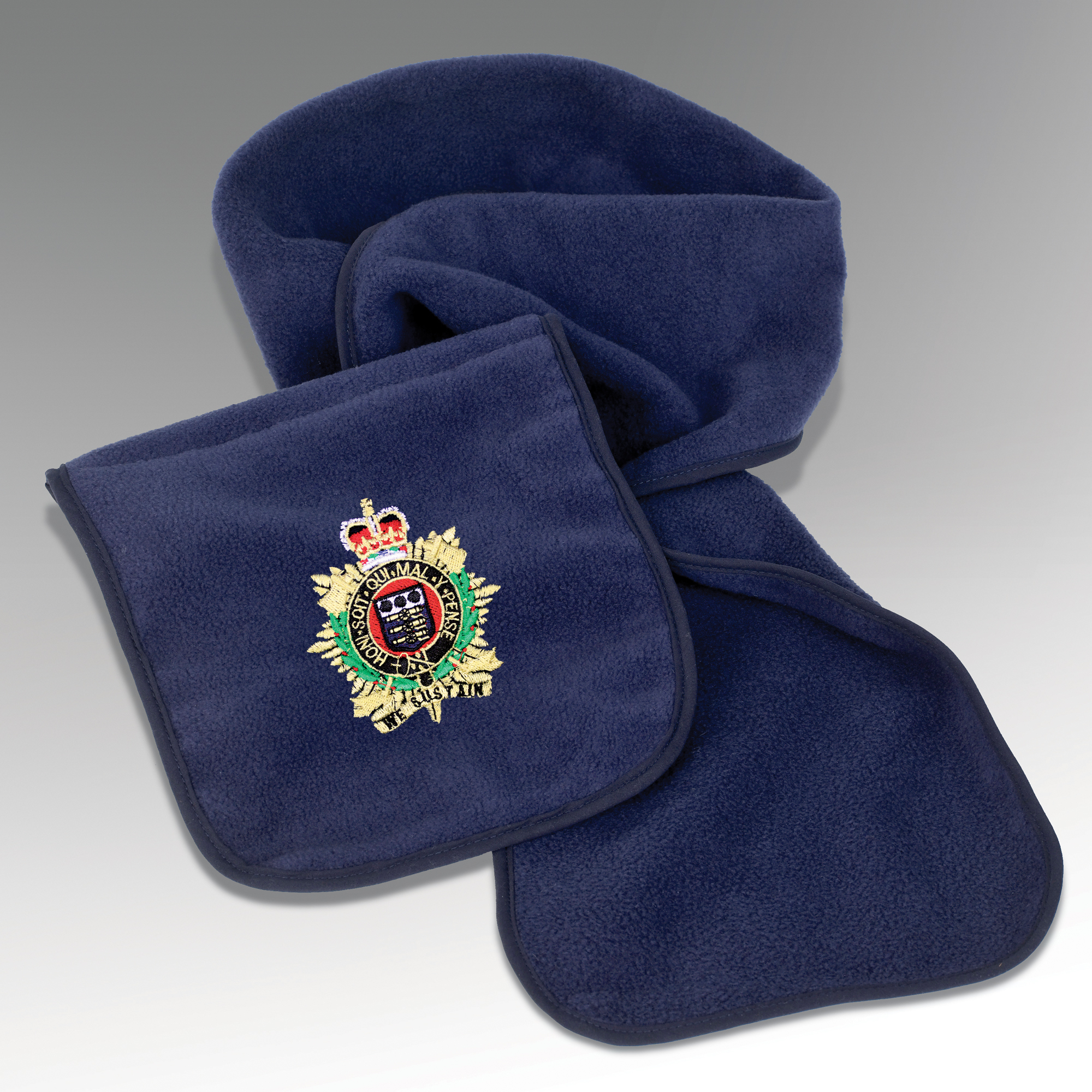 Embroidered Military Scarves