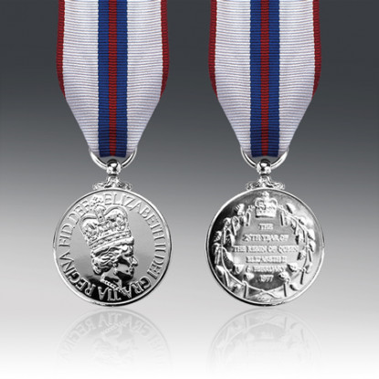 Queens 1977 Silver Jubilee Medal