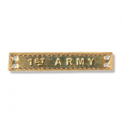 1st Army Miniature Bar