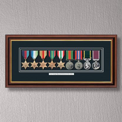 Medal Frame for 9 Medals | Personalised Frames for Awards