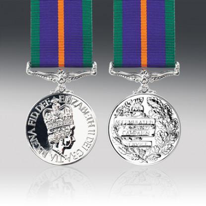 Miniature Accumulated Campaign Service Medal