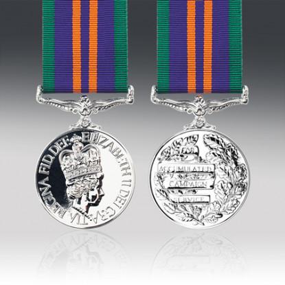 Accumulated Campaign Service Miniature Medal 2011