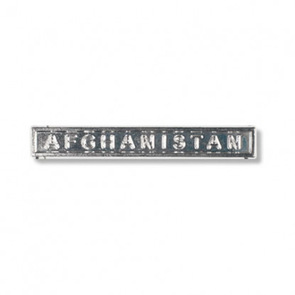 Afghanistan Miniature Clasp