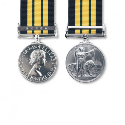 Miniature Africa General Service Medal