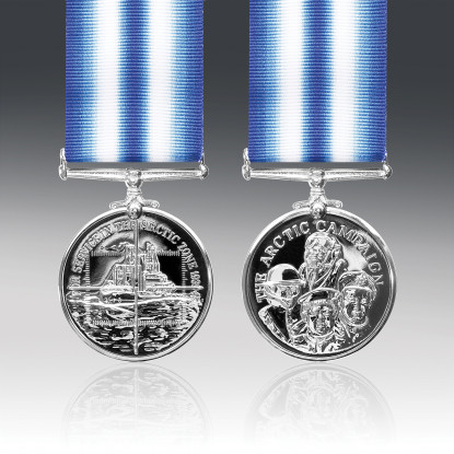 Arctic Campaign Medal Russian Military Service Medals