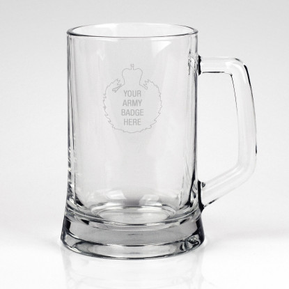 Personalised Glass Tankard