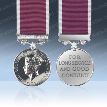Army Long Service Medal GVIR