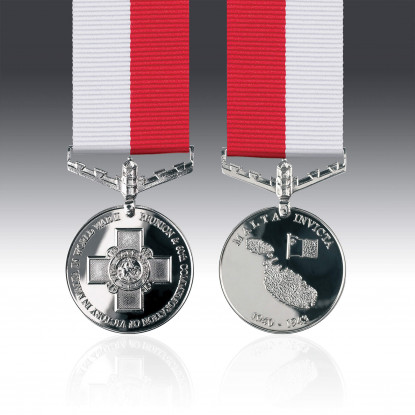 Miniature Battle for Malta Medal