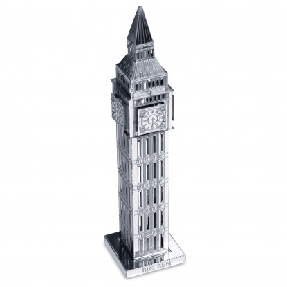 Big Ben Tower Metal Model