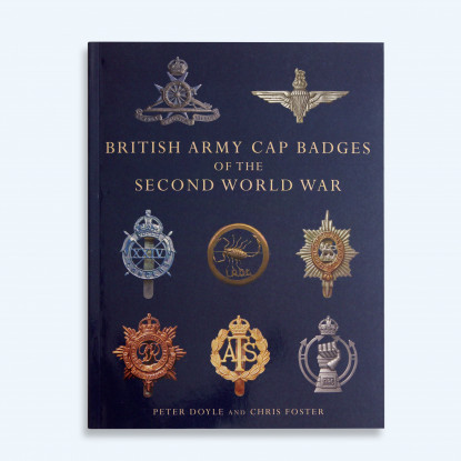 British Army Cap Badges  of the Second World War Book