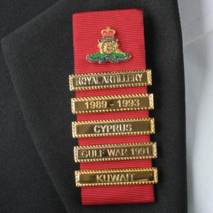 British Army Regiment Lapel Badge of Pride