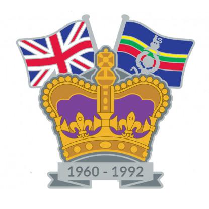 Crown & Country Lapel Badge Royal Marines