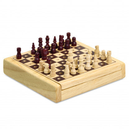 Chess Wooden Travel Game