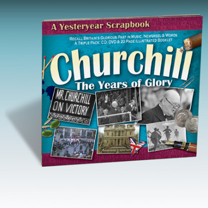 Winston Churchill Scrapbook [DVD]