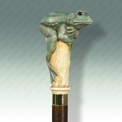 Classic Green Frog Cane