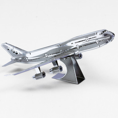 Commercial Jet Metal Plane