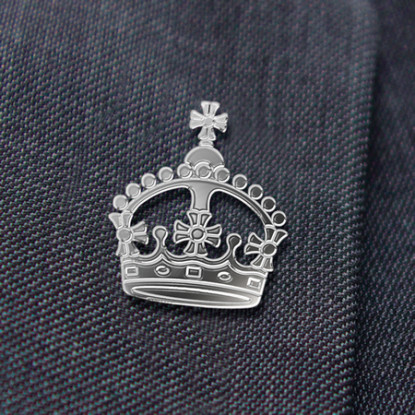 Coronation Lapel Pin