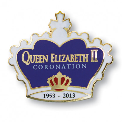 Coronation Pin Badge