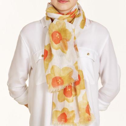 Ladies Daffodil Scarf