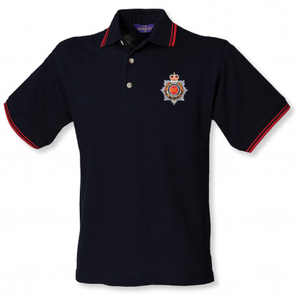 Double Tipped Polo Shirt Navy/Red