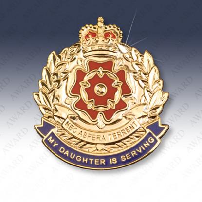 Duke of Lancasters Regiment Daughter Lapel Badge