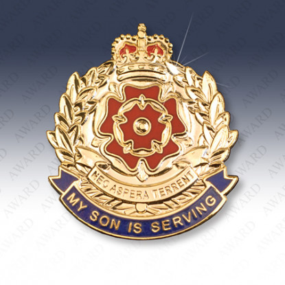 Duke of Lancasters Regiment Son Lapel Badge