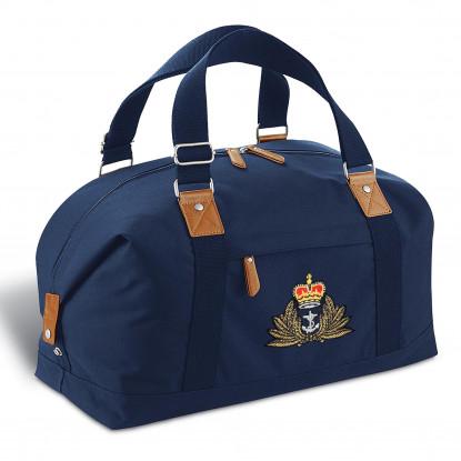 Personalised Vintage Overnight Bag