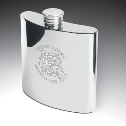 Personalised 6oz Pewter Hip Flask