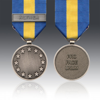 ESDP Operation Althea Medal