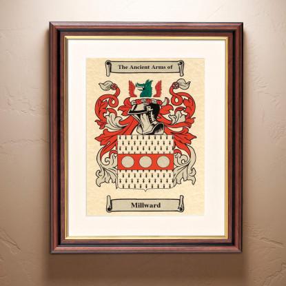 Family Crest Framed