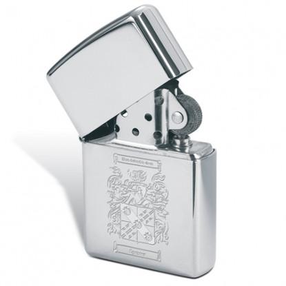 Family Crest Zippo Lighter