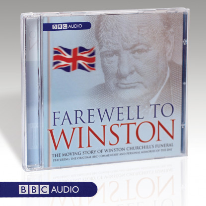 Farewell to Winston Single Audio Book CD