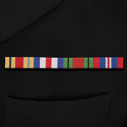 Four Sew-On Ribbon Bar