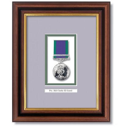 General Service Medal Frame