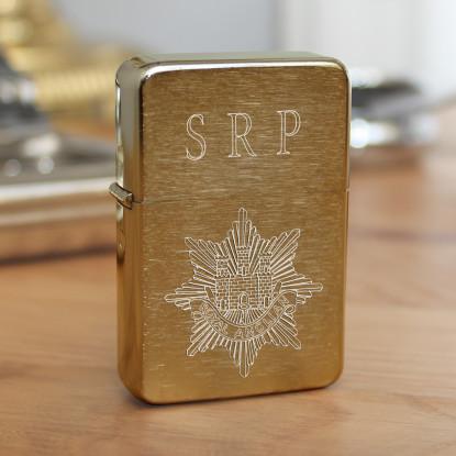 Golden Brushed Star Lighter