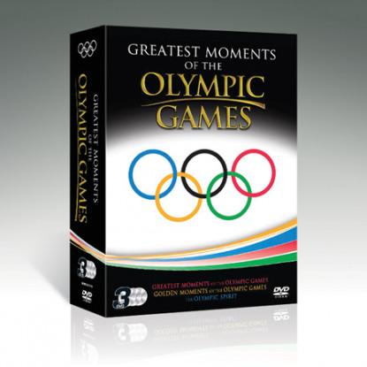 Greatest Moments of The Olympic Games [3DVDs]