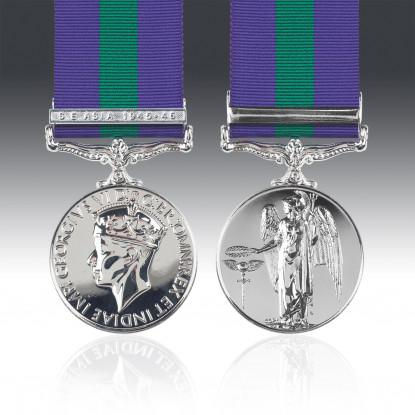 General Service Medal 1918-62 G.VI.R & S.E. Asia 1945-46 Clasp