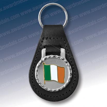 Irish Flag Key Fob