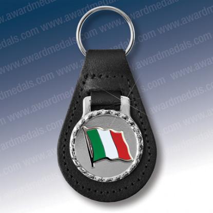 Flag of Italy Key Fob