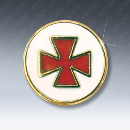 Knights Templar Masonic Lapel Pin
