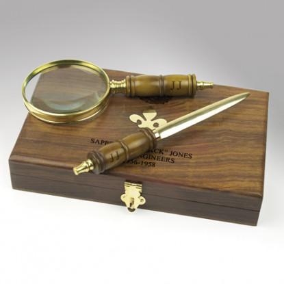 Magnifier & Letter Opener
