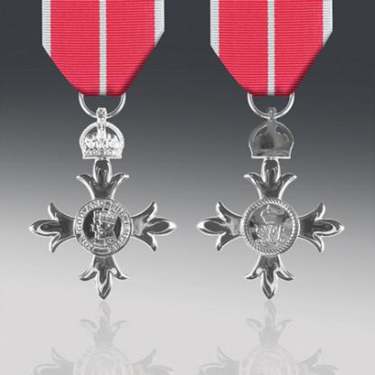 MBE Miniature Medal