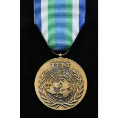 UN Sierra Leone (UNOMSIL) Full Size Medal Loose