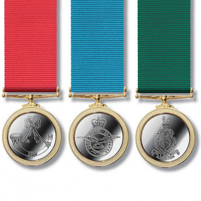 Miniature Commemorative Military Service Medal
