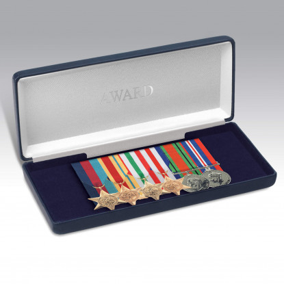 Personalised Miniature Medal Storage Case For 5+ Medals