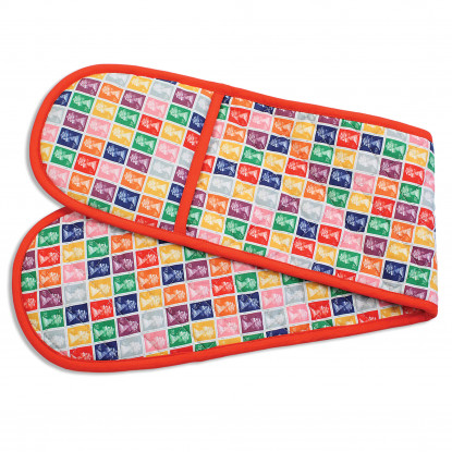 Stamp Collection Multicoloured Oven Glove