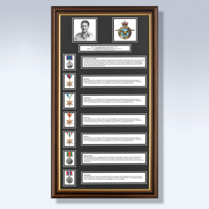 My Military History with 7 Awards